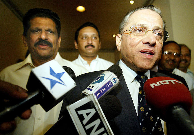 Late BCCI Chief Jagmohan Dalmiya