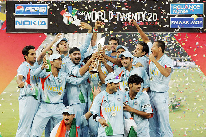 Gambhir relives India's T20 World Cup triumph in 2007