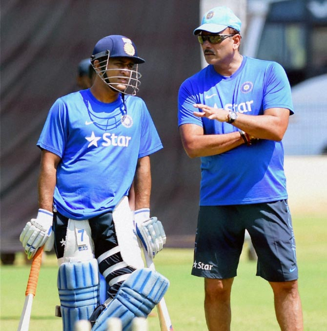 Dhoni at 36 can beat players of 26: Shastri slams critics