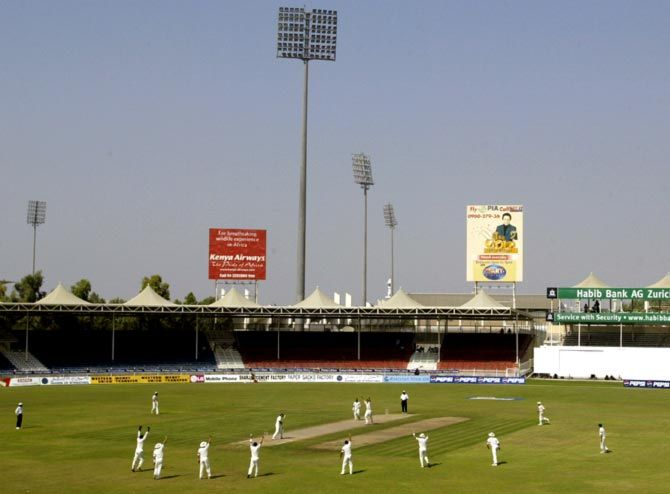 The Sharjah Cricket Stadium