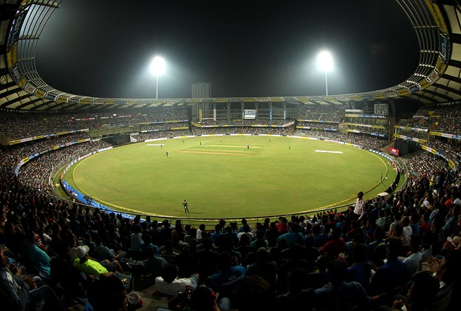 The Mumbai Cricket Association's Wankhede stadium