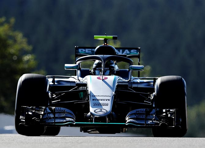 Rosberg on pole for Belgian Grand Prix ahead of Verstappen