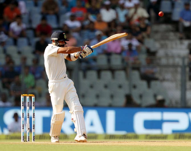 Virat Kohli rates his innings of 141 against Australia in Adelaide as his best to date