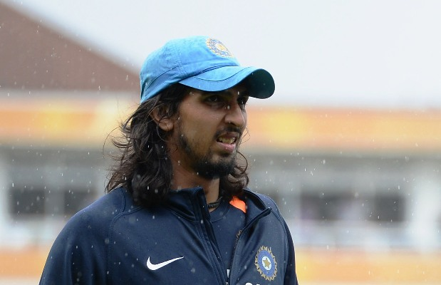 India's Ishant Sharma at a nets session