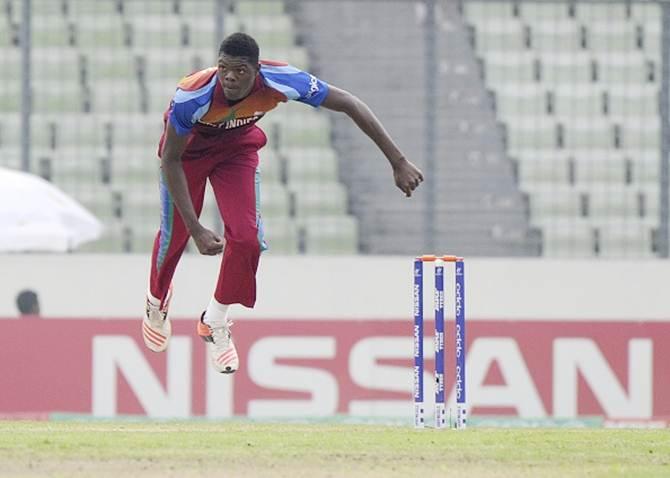 West Indies pacer Alzarri Joseph