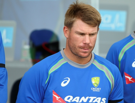 Australia's vice-captain David Warner