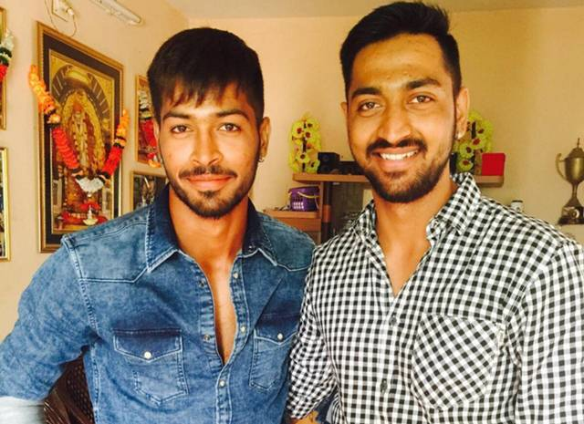 hardik and krunal pandya