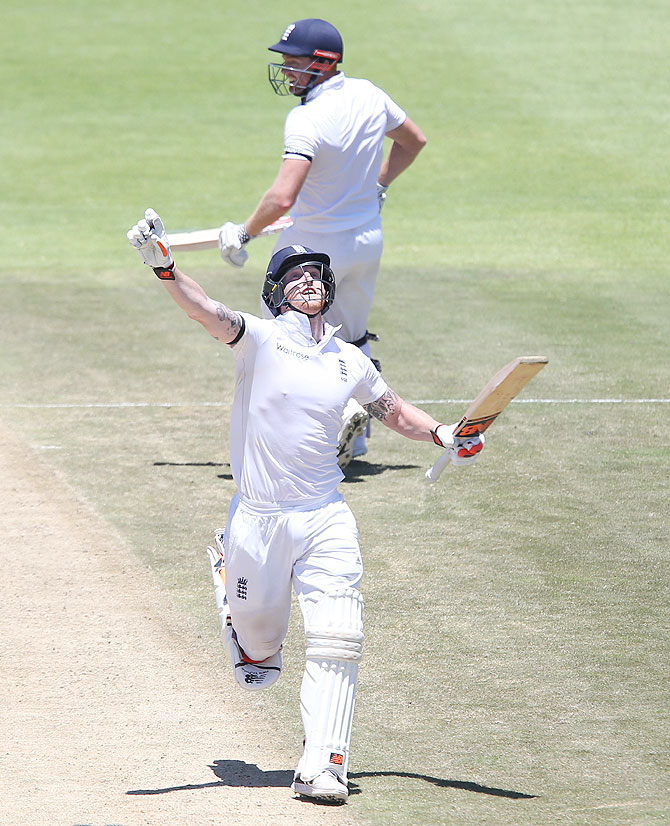 2nd Test: Stokes strikes double ton as Proteas chase leather on record-breaking day