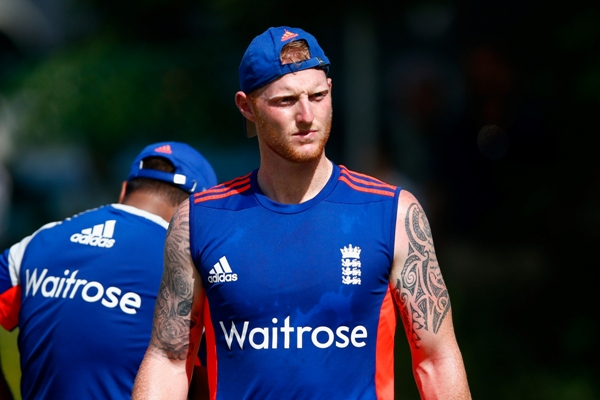 England's Ben Stokes charged with affray
