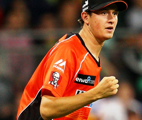 Joel Paris of Australia during the Big Bash League