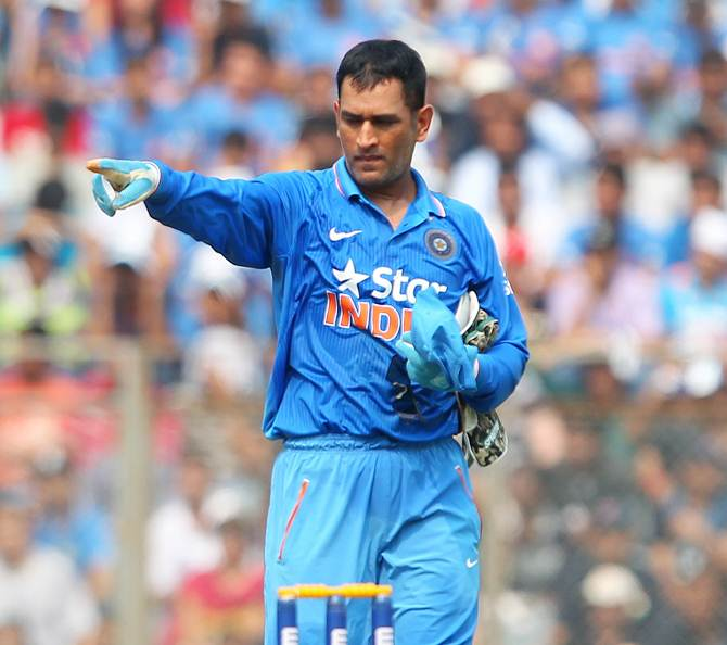India's limited-overs captain Mahendra Singh Dhoni