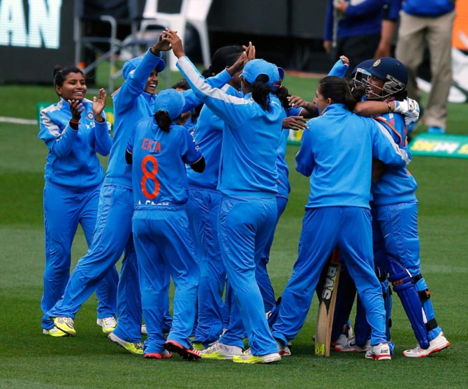 4th T20: India women down WI in rain-affected match