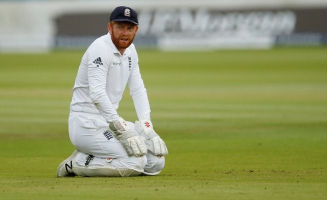 "Bairstow said he was ""disappointed to lose the gloves"" despite his efforts at improvement."