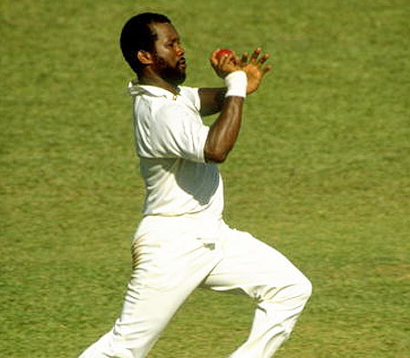 Saliva ban: Malcolm Marshall to bowlers' rescue
