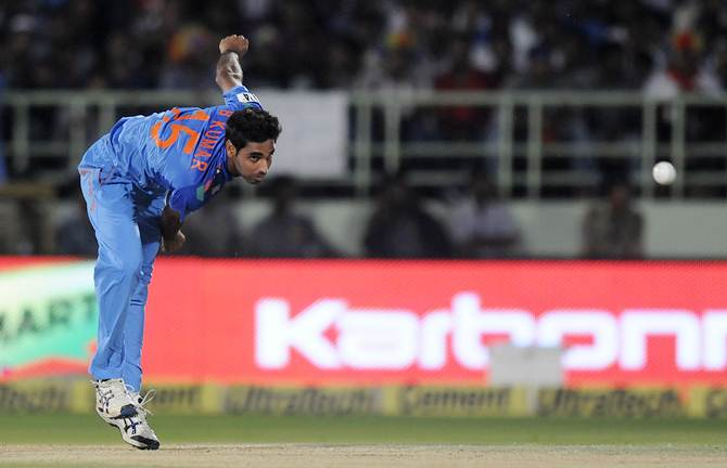 Fit-again Bhuvi returns for Windies ODIs, T20s