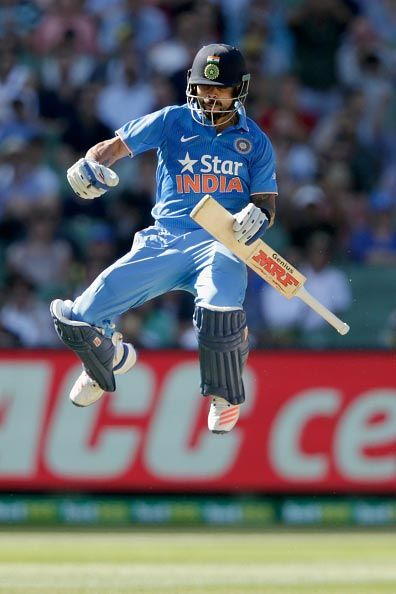 Virat airborne after another brilliant knock