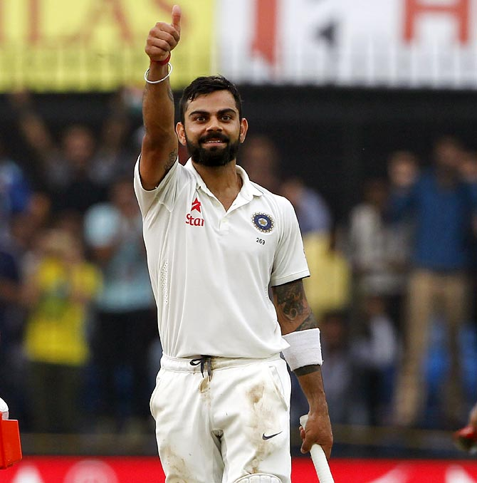 Kohli on demonetisation: 'Greatest move in the history of Indian politics'