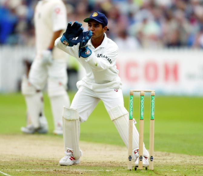Parthiv Patel said he was later invited to dinner by the burly Aussie