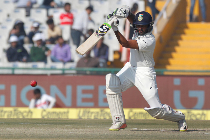 Parthiv Patel scored a good 94 before getting dismissed