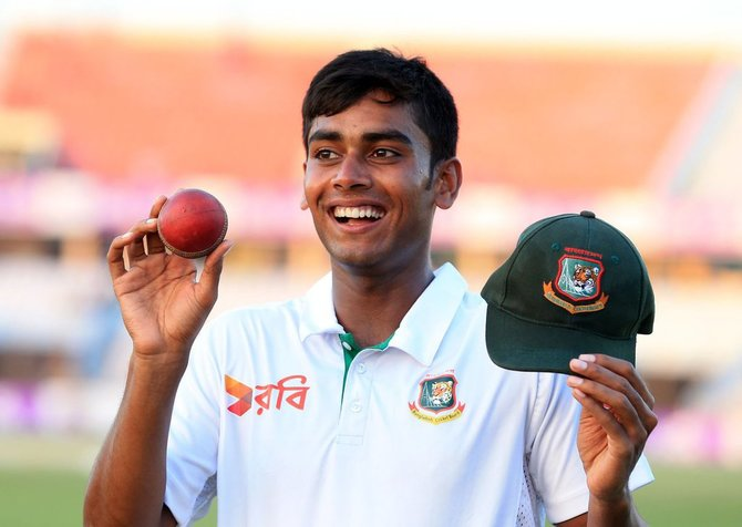 Spinner Mehedi Hasan picked six wickets to guide Bangladesh to victory against England