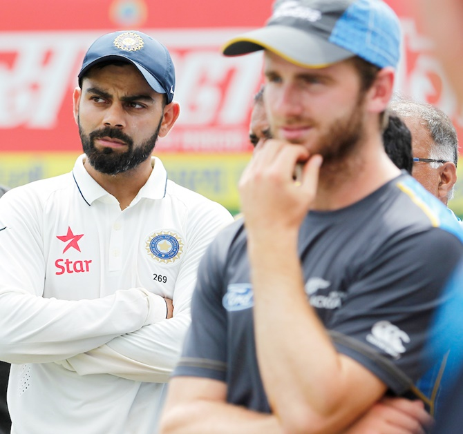 Kohli backs Kane Williamson's leadership style