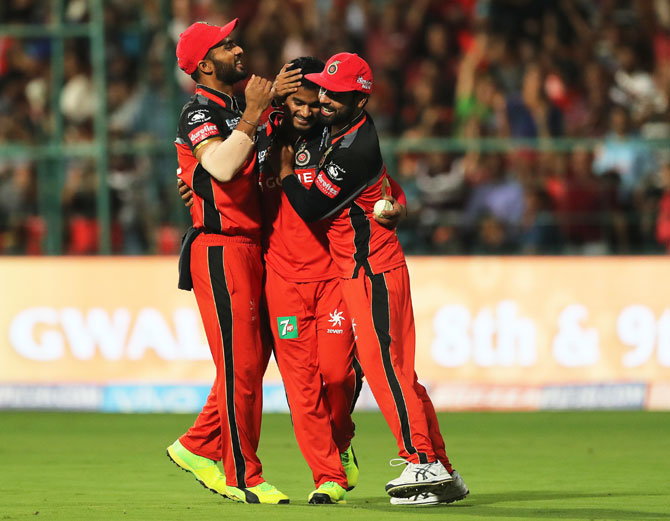IPL: Negi gamble pays off as RCB beat Delhi Daredevils by 15 runs
