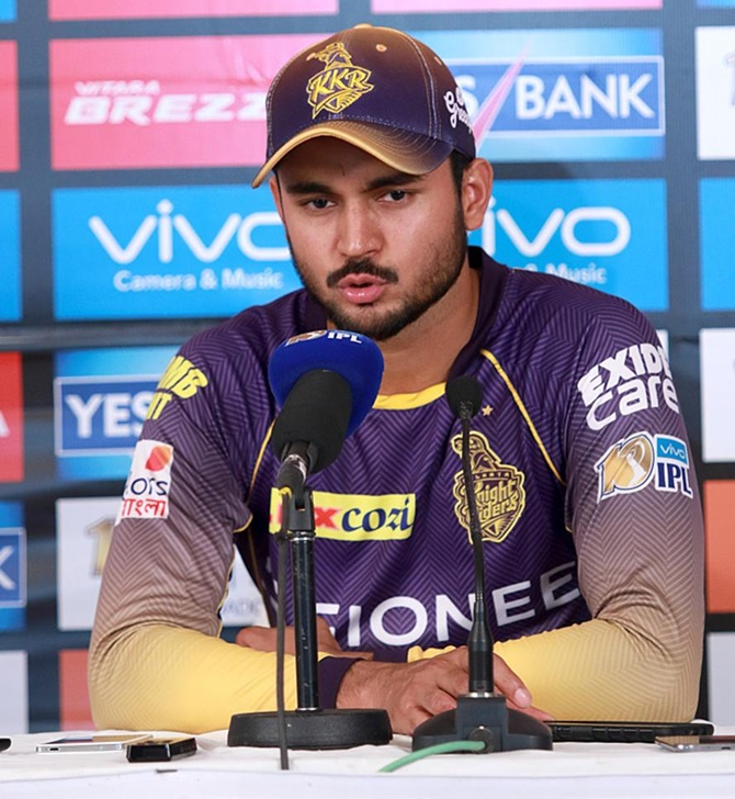 Here's why KKR's Pandey is disappointed