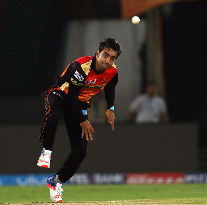 Afghanistan's Rashid Khan is a special talent, says Muralitharan