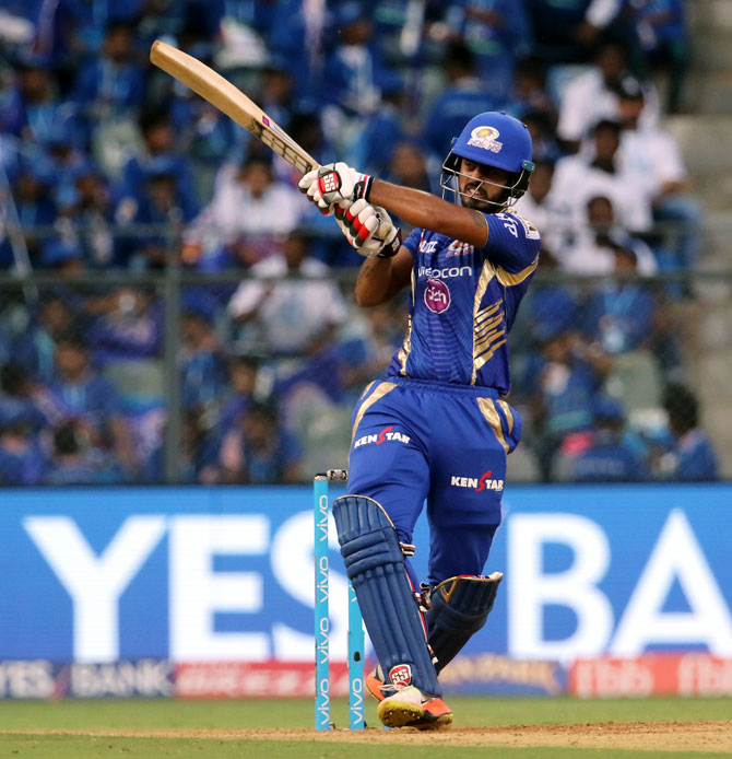 IPL PHOTOS: Rana blasts half-century as Mumbai ease past Gujarat