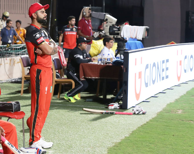 Here's what Kohli's urging players to do after RCB's fourth loss