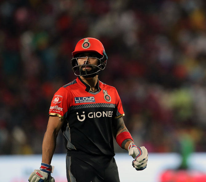 What's wrong with RCB's batting?