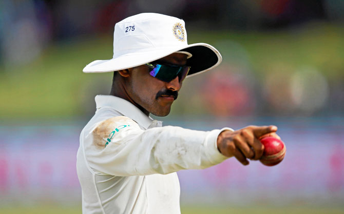 Ravindra Jadeja claimed a fifer and scored a good 70 in the 2nd Test in Colombo to see him knock Bangladesh's Shakib-al-Hasan off his perch