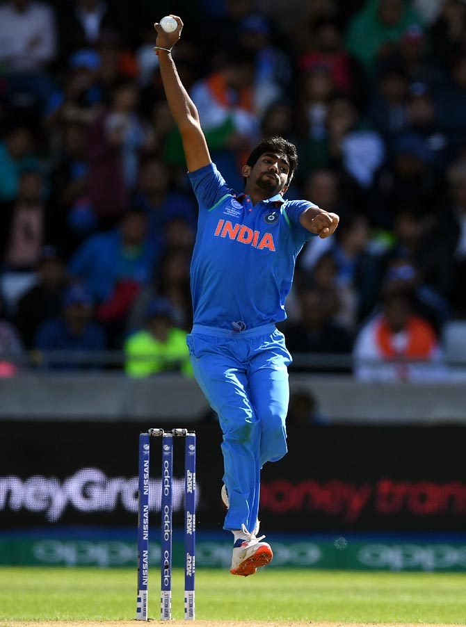 Rediff Sports - Cricket, Indian hockey, Tennis, Football, Chess, Golf - How Bumrah became the best ODI bowler in the world