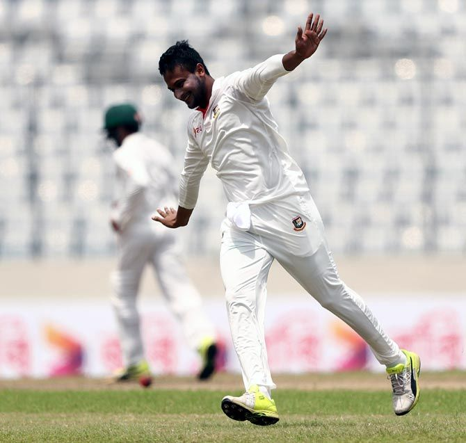 Shakib Al Hasan led Bangladesh to their first ever Test win over Australia in August 2017
