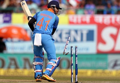 PHOTOS: India humiliated by Sri Lanka as batsmen flop