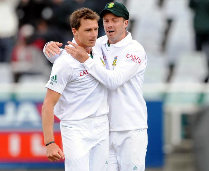 SA recall de Villiers, Steyn with an eye on India series
