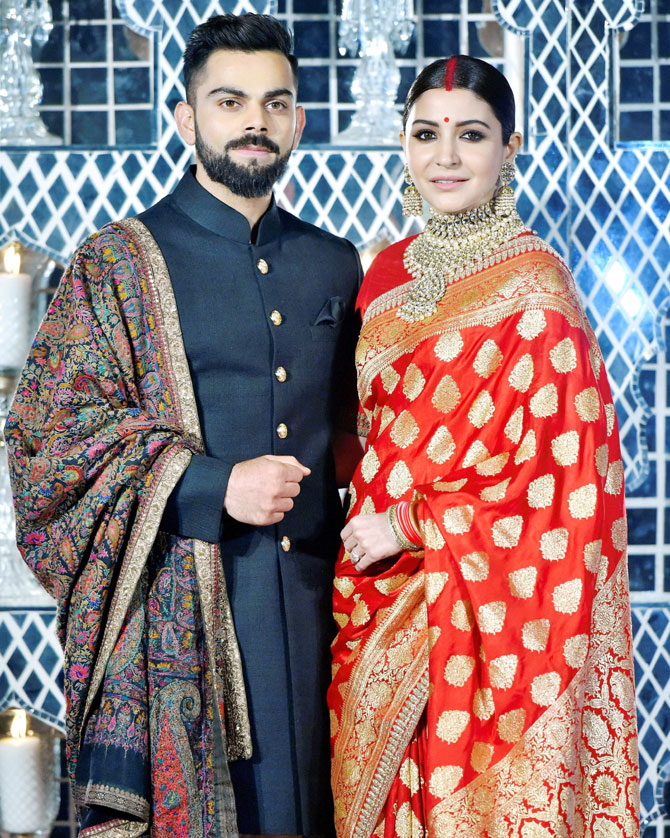 PHOTOS: Virushka's grand wedding reception