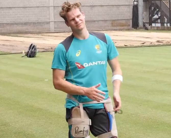 While Smith will turn out at the Australia nets later this week, Warner came in the SCG nets before the third T20I against India on Sunday and faced the Aussie fast bowlers in the nets