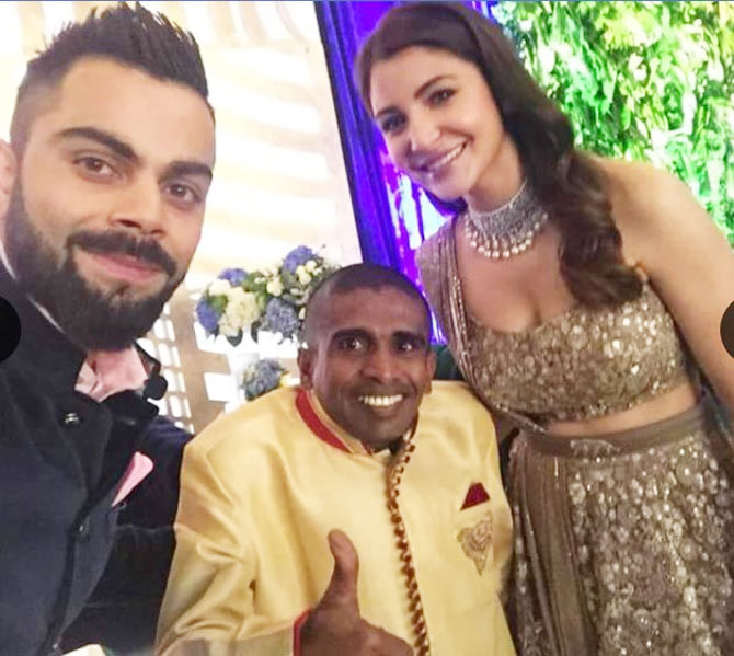 The special guest at Virushka's reception