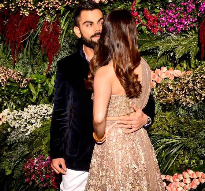 Here's what Virat Kohli has to say on his wedding...