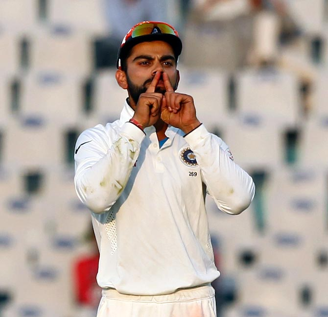 Australia's 'No Sledging' Policy: Kohli happy to play