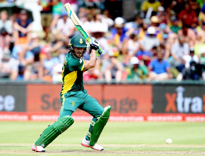Faf Du Plessis had last month stepped down from captaincy in all formats
