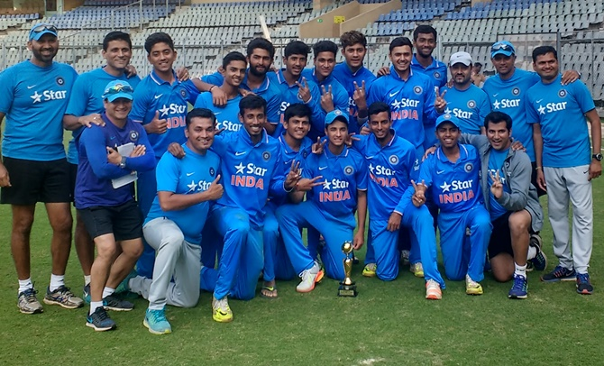 India Under-19 clinch series against England