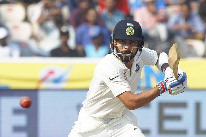 It's raining records for captain Virat Kohli