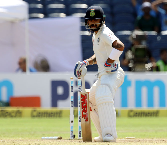 BCCI faces fine after 'poor' Test pitch