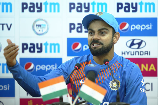 Kohli on what went wrong for India in 1st T20