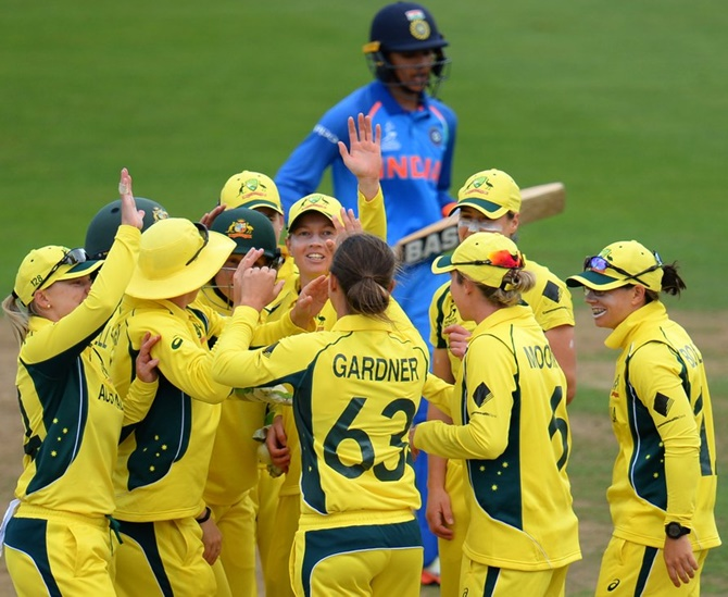 Women's WC: India suffer 8-wicket loss to Australia