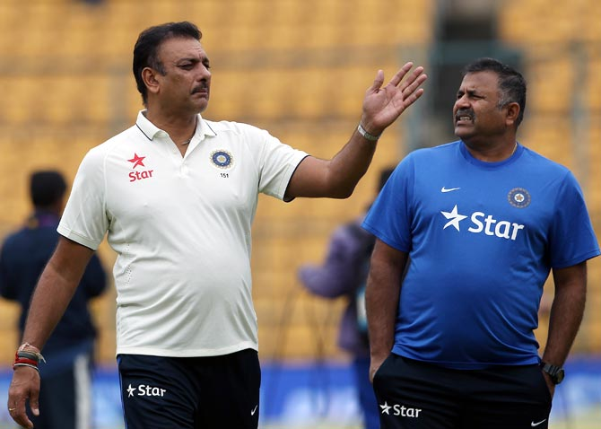 Will coach Shastri re-apply for fresh term?