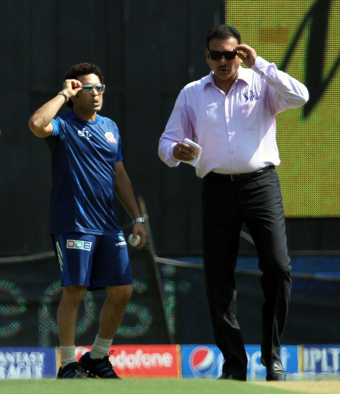 Coach Shastri wants Tendulkar as consultant but...