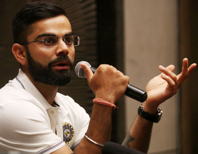 Only a monster can do this: Kohli on elephant killing